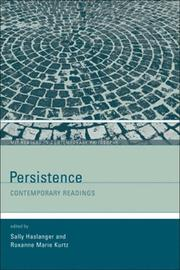 Cover of: Persistence |