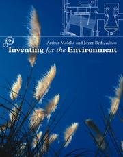 Cover of: Inventing for the Environment (Lemelson Center Studies in Invention and Innovation) |
