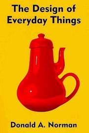 Cover of: Design of Everyday Things | Donald A Norman