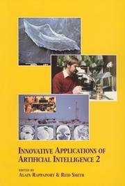 Cover of: Innovative Applications of Artificial Intelligence 2 |