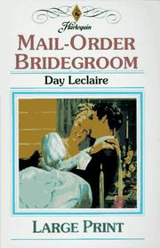 Cover of: Mail-order bridegroom
