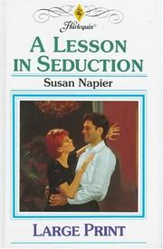 Cover of: A Lesson in Seduction | Susan Napier