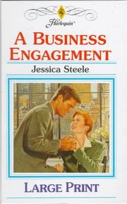 Cover of: A Business Engagement | Jessica Steele