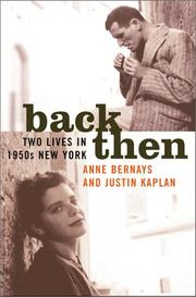 Cover of: Back then