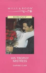 Cover of: His Trophy Mistress