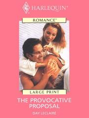 Cover of: The Provocative Proposal
