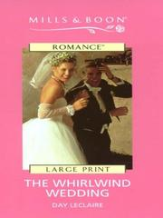 Cover of: The whirlwind wedding