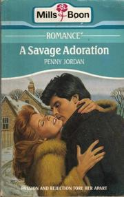 Cover of: A Savage Adoration