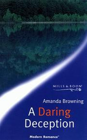 Cover of: A Daring Deception