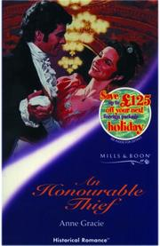 Cover of: An Honourable Thief