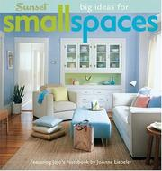 Cover of: Big Ideas for Small Spaces | David Lansing