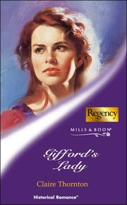 Cover of: Gifford's Lady
