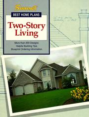 Cover of: Two-Story Living | Sunset Books
