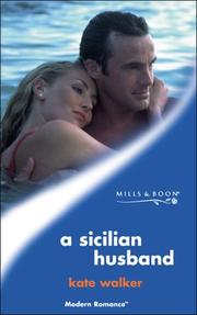 Cover of: A Sicilian husband