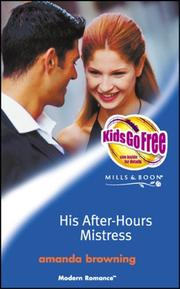 Cover of: His After-hours Mistress