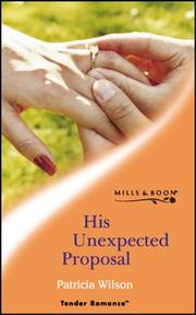 Cover of: His Unexpected Proposal
