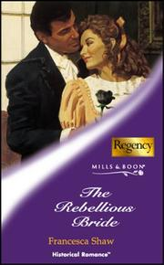 Cover of: The Rebellious Bride