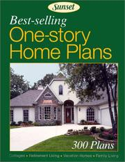 Cover of: Best-Selling One-Story Home Plans
