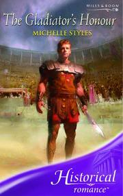 Cover of: The Gladiator's Honour