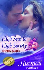 Cover of: High Seas to High Society