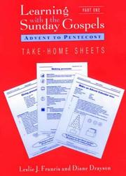 Cover of: Learning With Sunday Gospels Worksheets | Francis, Leslie J.