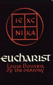 Cover of: Eucharist | Louis Bouyer