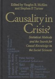 Cover of: Causality in Crisis? |