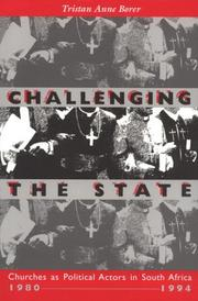 Cover of: Challenging the state