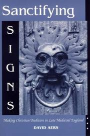 Cover of: Sanctifying Signs
