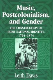 Cover of: Music, postcolonialism, and gender