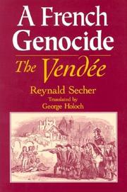 Cover of: A French Genocide