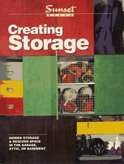 Cover of: Creating Storage | Sunset Books