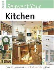 Cover of: Sunset Reinvent Your Kitchen
