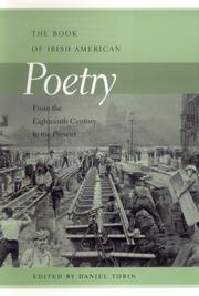 Cover of: The Book of Irish American Poetry: From the Eighteenth Century to the Present