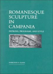 Cover of: Romanesque sculpture in Campania