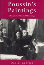 Cover of: Poussin's paintings