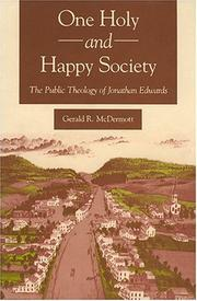 Cover of: One holy and happy society