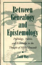 Cover of: Between genealogy and epistemology