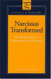 Cover of: Narcissustransformed