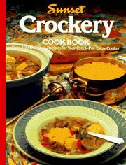 Cover of: Crockery cook book |