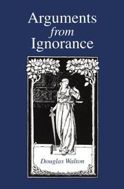 Cover of: Arguments from ignorance