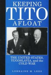 Cover of: Keeping Tito afloat | Lorraine M. Lees