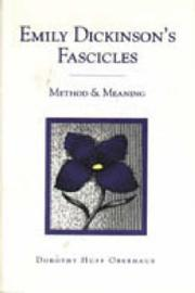 Emily Dickinsons Fascicles