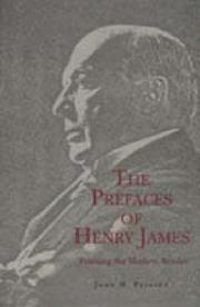 Cover of: The prefaces of Henry James