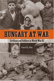 Cover of: Hungary at war