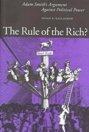 Cover of: The Rule Of The Rich?