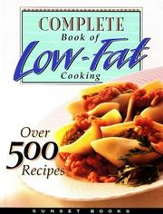 Complete book of low-fat cooking