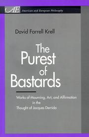 Cover of: The Purest of Bastards