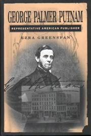Cover of: George Palmer Putnam