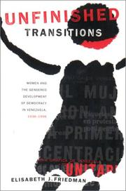 Cover of: Unfinished transitions